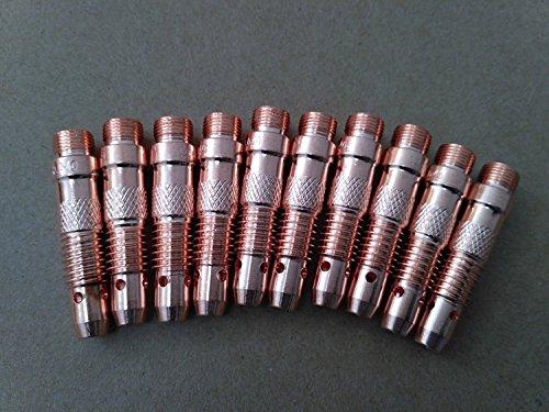 ETA : 7-12 jours ouvrables TIG Pomme de soudure pour t/ête de torche 9 V Valve Air-Cool 125 A WP-9 V