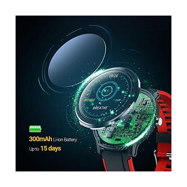 SmartWatch,Reloj Inteligente Impermeable IP68,Bluetooth Relojes Deportivos Pantalla t¨¢ctil completa para monitor… 7