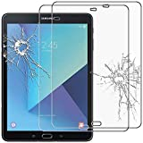 ebestStar - kompatibel mit Samsung Galaxy Tab S3 9.7 Panzerglas x2 SM-T820, SM-T825 Schutzfolie Glas, Schutzglas Bildschirmschutz, Bildschirmschutzfolie 9H gehärtes Glas [Tab: 237.3 x 169 x 6mm, 9.7'']