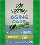 GREENIES Aging Care TEENIE Natural Dog Dental Care...