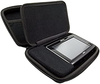 """ChargerCity Extra Large Hard Shell Carry Case for Tomtom 4.3, 5 & 6"""" GPS GO 50 51 52 60 61 65 500 520 600 620 Via 1505 153..."""