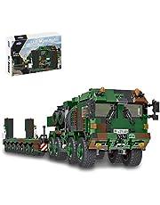 Dellia Teknik tank byggstenar modell 1:30 1346 delar leopard 2A6 teknik WW2 militär pansar modellbyggsats militärfordon leksaksset, kompatibel med Lego