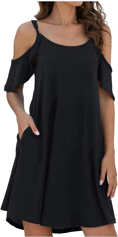 KYLEON Women's Casual Summer Sleeveless Tie-dye Print Beach Dresses Bohemian Mini Dress Boho Beach Tunic Tank Sundress Plus