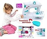 StrMy MACCHINA DA CUCIRE GIOCATTOLO FUNZIONA DAVVERO CM. 25 x 20 giocattolo bambina