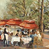 Marilyn Hageman – Lunch on the Champs Elysees Impression d'art Print (60,96 x 60,96...