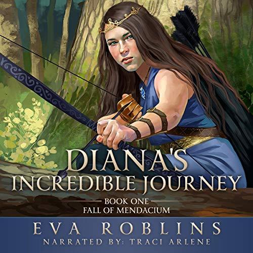 Diana's Incredible Journey audiobook cover art