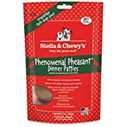 Stella & Chewy'S Freeze-Dried Raw Phenomenal Pheasant Dinner Patties Grain-Free Dog Food, 5.5 Oz Bag