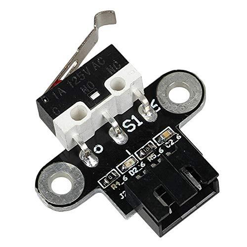 SUNERLORY Limit Switch Module Reparatie Kleine Mechanische Endstop Touch Controle Met Kabel En Speel Vervangende Onderdelen Eenvoudige Installatie Reset Hoofdbord 3D Printer Duurzaam Moederbord