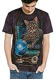 The Mountain The Fortune Teller T-Shirt für Erwachsene, Violett, Größe M