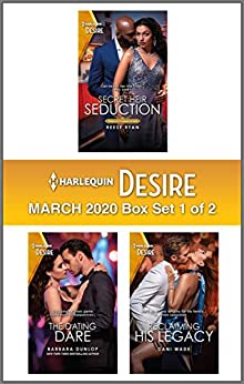 Harlequin Desire March 2020 - Box Set 1 of 2 by [Reese Ryan, Barbara Dunlop, Dani Wade]