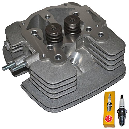 TOP NOTCH PARTS REPLACEMENT CYLINDER HEAD FITS POLISHED INTAKE AND EXHAUST PORT FOR HONDA RANCHER 2001-2006 TRX 350 TRX350 FA FM TE TM