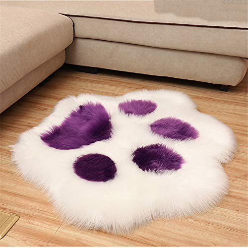 MMHJS European-Style Cute Simple Bedroom Floor Mats Non-Slip Soft Wear-Resistant Living Room Floor Mats Suitable For Balcony Coffee Table Party Bedside