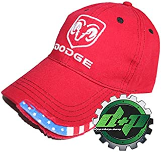 b437c44e Diesel Power Plus Dodge Ram Hat Cap Cummins Mopar Flag red White Blue Ball  Cap