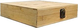 Boîte De Rangement en Bois Coffre À Thé Organisateur De Cuisine en Bois Coffre Décoratif pour Organiser Et Exposer Les Thé...
