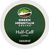 Green Mountain Coffee K-Cup, Half-Caffeine, 12-Count