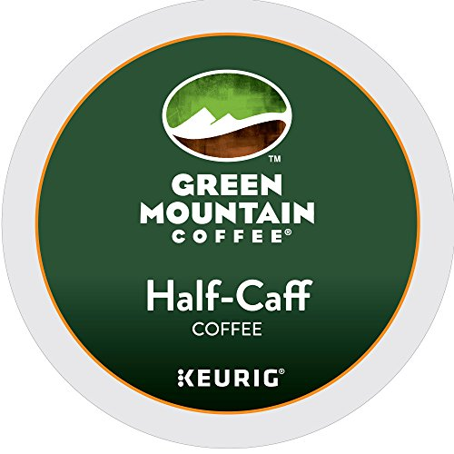 Green Mountain Coffee Roasters K-Cup, Half-Caffeine, 12-Count