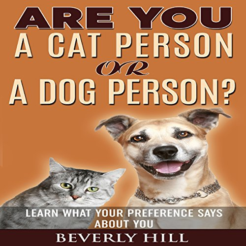 Are You a Cat Person or a Dog Person? audiobook cover art
