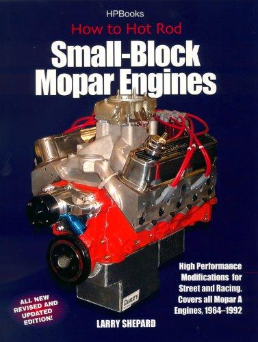 Hot Rod Small Block Mopar Engines HP1405 (English Edition)