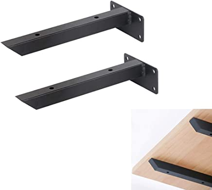 Furniture support packs Unique wall mount brackets save space Space DIY wall mount floats include screws and wall anchors
