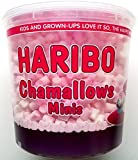 Haribo Chamallows Minis rose et blanc à remous - 1 x 475gm
