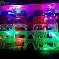 2021 LED グローグラス 眼鏡大晦日 パーティー の贈り物 新年会 小道具 バーフェスティバル 誕生日 パーティー 用品