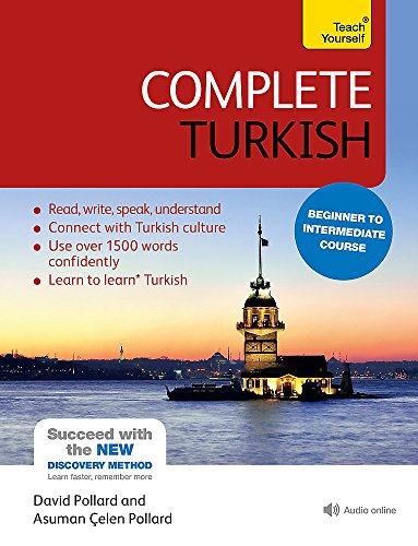 Compare Textbook Prices for Complete Turkish Beginner to Intermediate Course: Learn to read, write, speak and understand a new language Teach Yourself Language 4 Edition ISBN 9781444102390 by Pollard, Asuman Celen,Pollard, David