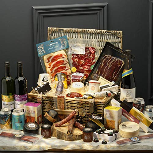 Great British Cheese & Charcuterie Luxury Hamper Christmas Edition