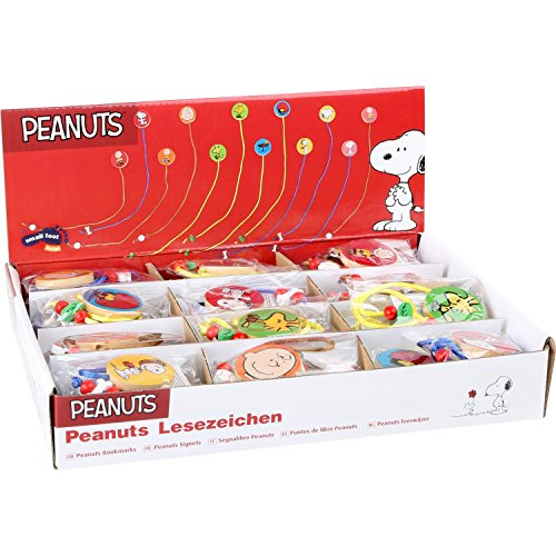 Small Foot- Display Puntos de Libro Peanuts Perle, Multicolore, 1