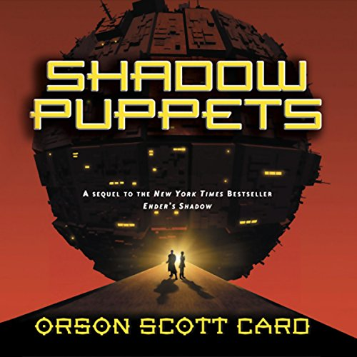 Shadow Puppets audiobook cover art