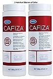 Urnex Cafiza Professional Espresso Machine Cleaning Powder 566 grams (2 Pack) - Made in USA