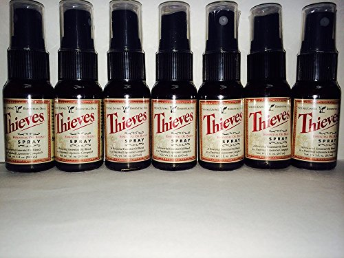 Young Living Thieves Essential Oil Spray 7 Pack 1 Oz Spray Bottles