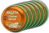 Argeta Pate Spread, Chicken, 3.35oz (6 PACK)