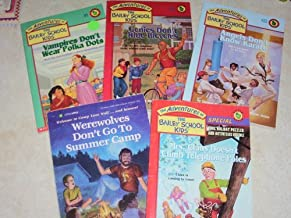 Bailey School Kids 5 Book Set, Werewolves Don't Go To Summer Camp, Mrs. Claus Doesn't Climb Telephone Poles, Angels Don't Know Karate, Genies Don't Ride Bicycles, Vampires Don't Wear Polka Dots