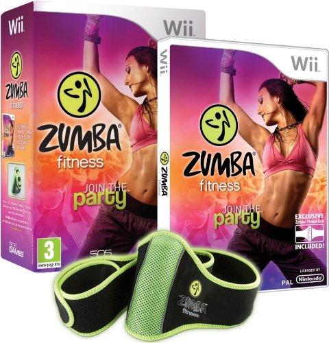 Zumba Fitness Wii - Bundle Pack with Belt Accessory [Edizione: Regno Unito]