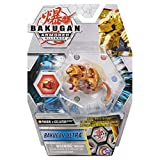 Bakugan Ultra Fusion, Pyrus Aurelus Pharol x Gillator, 3-inch Tall Collectible Transforming Creature
