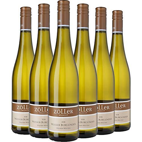 Wilder Westen WEISSBURGUNDER-Paket (6 x 0.75 l) | Qualitätswein aus Rheinhessen