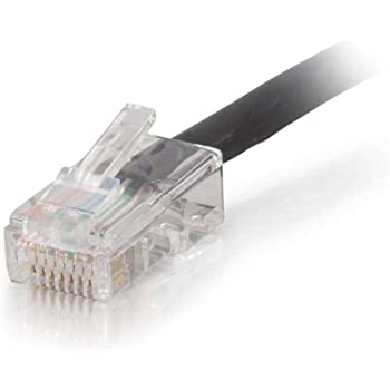 Plenum-rated C2g 14ft Cat6 Non-booted Network Patch Cable Black