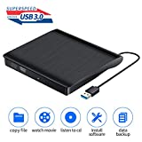 External CD DVD Drive Portable USB 3.0 CD/VCD +/-RW Drive Slim VCD/CD ROM