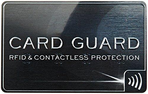 Go Travel Reisezubehör RFID Kartenschutz schwarz