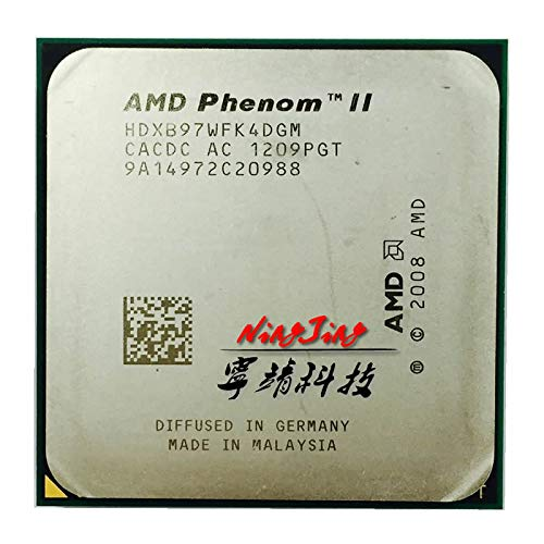 Phenom II X4 B97 CPU/HDXB97WFK4DGM/AM2+&AM3/938pin/3.2G/95W/6M