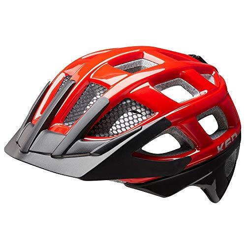 KED Kailu Kinder Fahrrad Helm 2019 - red black - M | 53-59cm
