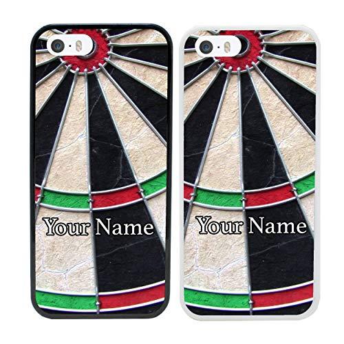 I-CHOOSE LIMITED Darts Personalisierter Handyhülle für Apple iPhone 6s Plus Benutzerdefinierte Hülle Persönlich Dein Name Stoßstange 5,5
