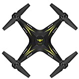 Bright Love Caméra Drone WiFi FPV HD RC Quadrocopter Real-Time 2, 4G 4 Canaux Avion 2018 UAV Télécommande Hélicoptère,Yellow