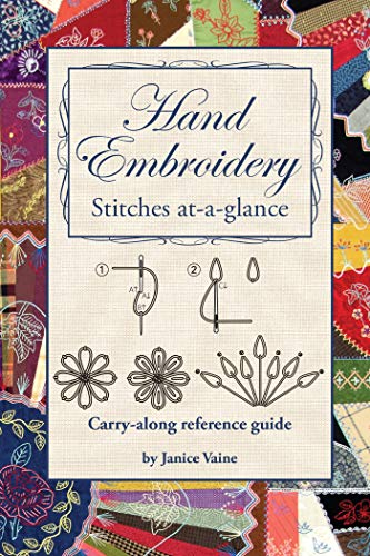 Hand Embroidery Stitches At-A-Glance