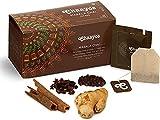 Chaayos Tea Bags - Masala Chai with 100% Natural Spices - [25 Tea Bags]   Masala Tea   Masala Tea Bags   Classic Assam Tea   Black Tea Bags   Natural Flavoured Tea   Adrak, Tea Masala, Spices & Herbs