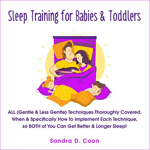 Sleep Training for Babies & Toddlers cover art