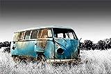 Volkswagen - Abandoned Camper - Colourlight - VW Bus