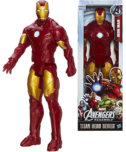 Titans Hero Series Ironman 12 inch Tall Action Figure from Marvel Avengers