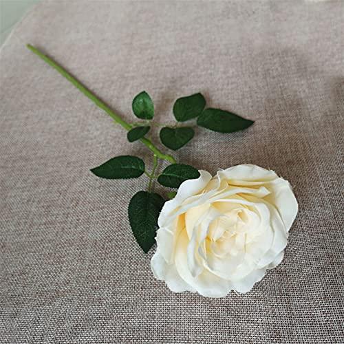 TXXT Künstliche Rose Blumen, für Home Party Hochzeit Hotel Garten Büro Tisch Wohnzimmer DIY Dekoration Ewige Rosen (Farbe : B)