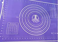 gwhole tappetino da forno in silicone, viola, 60x40cm